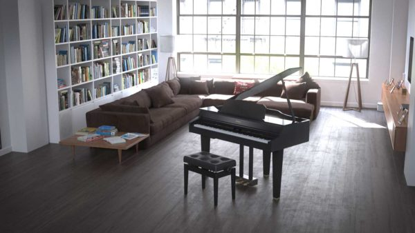 Roland flygel GP607 living room
