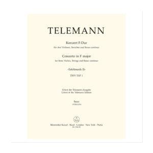 Concerto from Tafelmusik II | Cello/Kontrabas