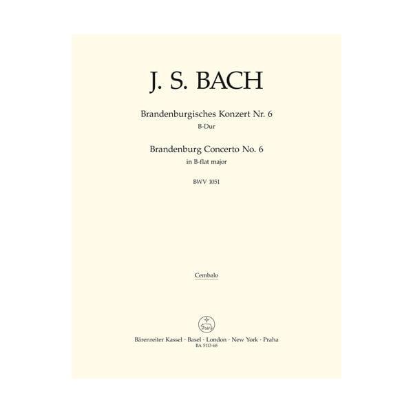 Brandenburgisches Konzert Nr. 6   Cembalo