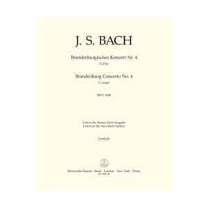 Fourth Brandenburg Concerto | Cembalo