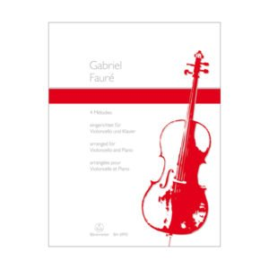 4 Melodies for Violoncello and Piano
