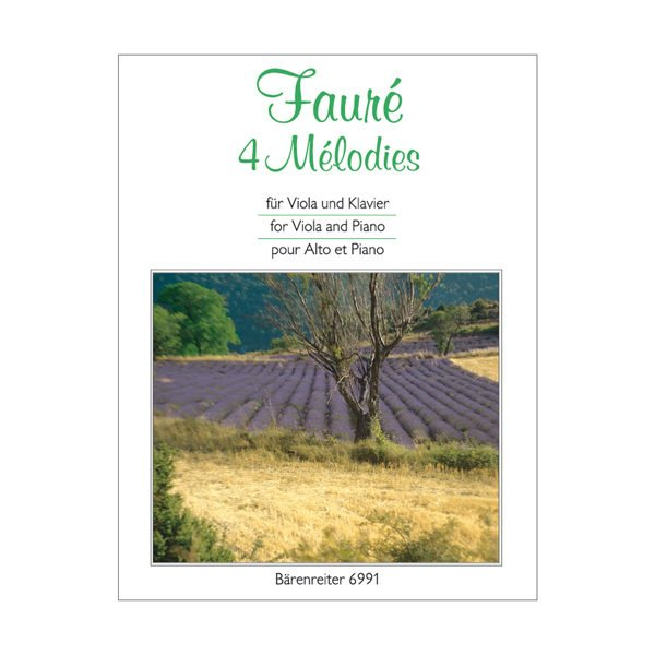4 Melodies for Viola and Piano