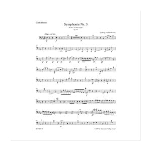 Beethoven - Symphony No. 3 | Kontrabas