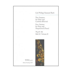C. Ph. E. Bach - 4 Sonatas | Heft 2