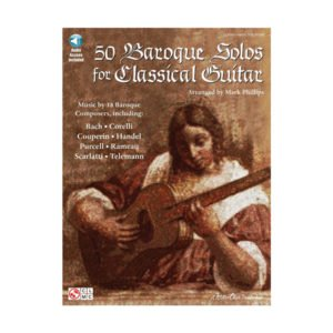 50 Baroques solos for classical guitar
