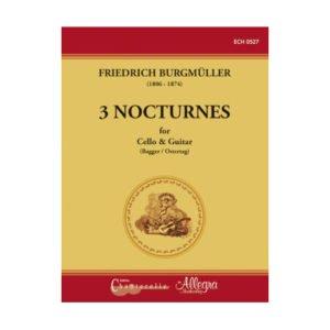 Burgmüller - 3 Nocturnes