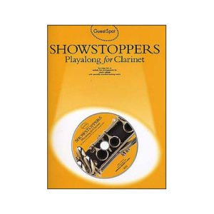 Guest Spot: Showstoppers Playalong for Clarinet