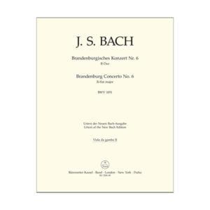 Brandenburg Concerto No. 6 | Viola da Gamba 2