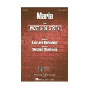 West Side Story - Maria | TTBB & Piano
