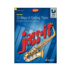 Jazz it - Jazzy pieces for alto sax and piano