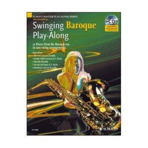 Swinging Baroque | Play-Along | Saxofon