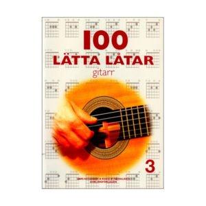 100 Lätta Låtar 3 | Gitarr