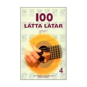 100 Lätta Låtar 4 | Gitarr