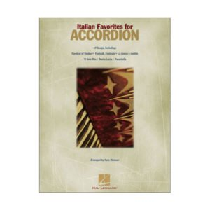 Italian Songs For Accordion | Hal Leonard