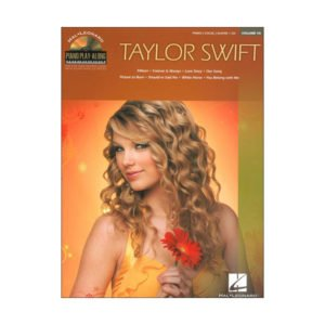 Piano Play-Along Volume 95: Taylor Swift