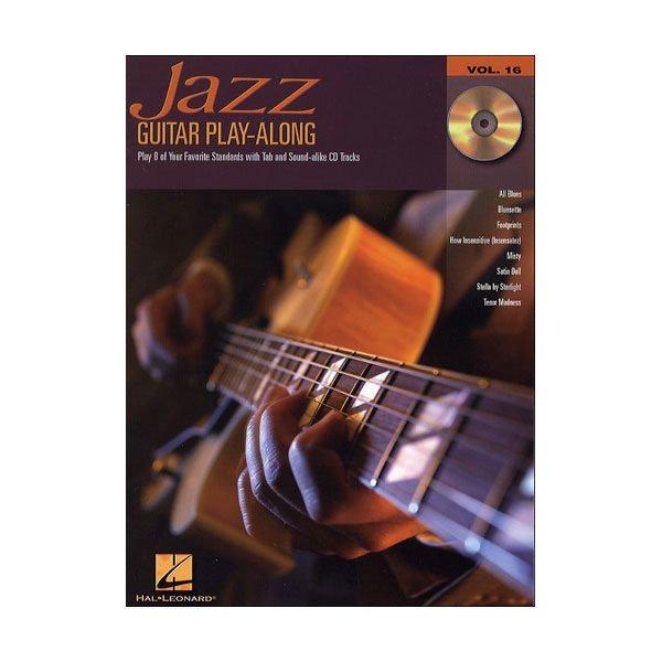 Jazz Guitar Play-Along Volume 16