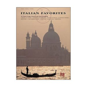 Italian Favorites Arranged For Piano And Vocal