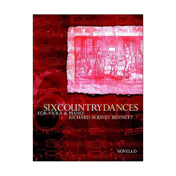 Six Country Dances Richard Rodney Bennett (Viola/Piano)