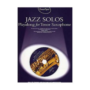 Jazz Solos Playalong For Tenor Saxophone