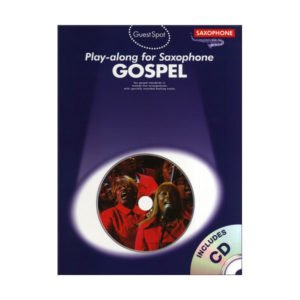 Gospel Play-Along For Alto Saxophone