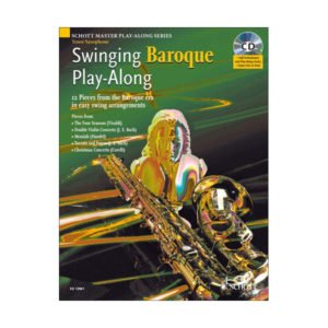 Swinging Baroque | Play-Along | Tenor Saxofon