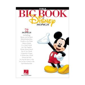The Big Book Of Disney Songs - Viola