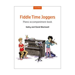 Fiddle time joggers Piano accompaniment