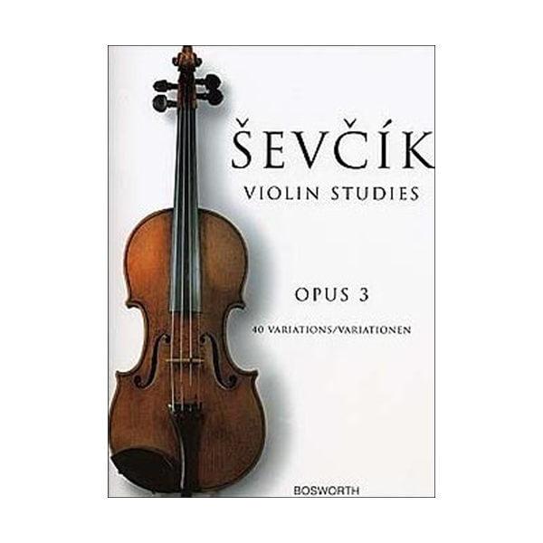 Violin studies op. 3