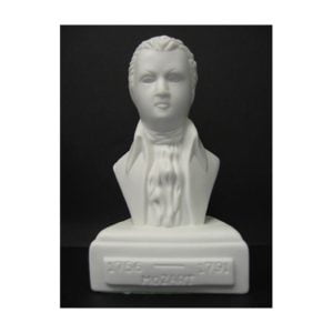 Statyett Mozart | 12 cm