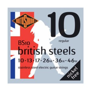 Rotosound BS10 British Steels | Regular 10-46