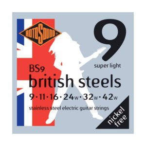 Rotosound BS9 British Steels | Super Light 9-42