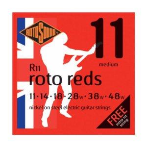 Rotosound R11 Roto Reds | Medium 11-48