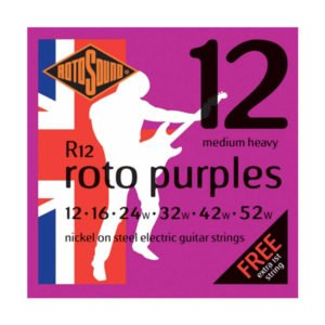 Rotosound R12 Roto Purples | Medium Heavy 12-52