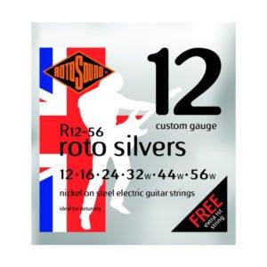 Rotosound R12-56 Roto Silvers | Custom 12-56