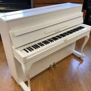 Piano Ed. Seiler | Vit sidenmatt - Front