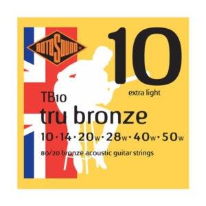Rotosound TB10 Tru Bronze | Extra Light 10-50