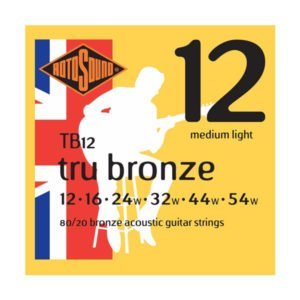 Rotosound TB12 Tru Bronze | Medium Light 12-54