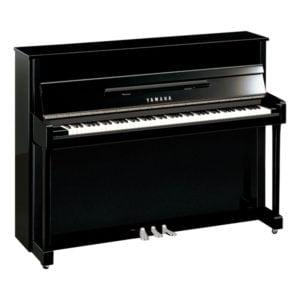 Piano Yamaha B-2 | Polerad Svart/Krom