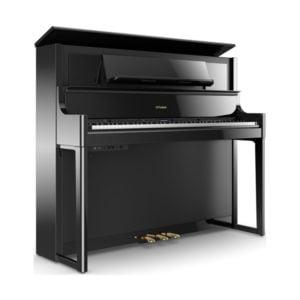 Piano Roland LX708 | Svart högblank