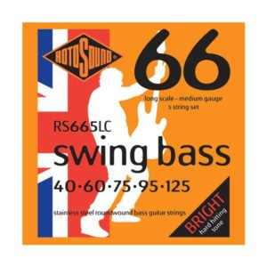 Rotosound RS665LC Swing Bass 66 | 5-str 40-125