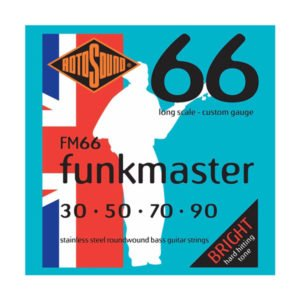 Rotosound FM66 Swing Bass 66 | Funkmaster 30-90