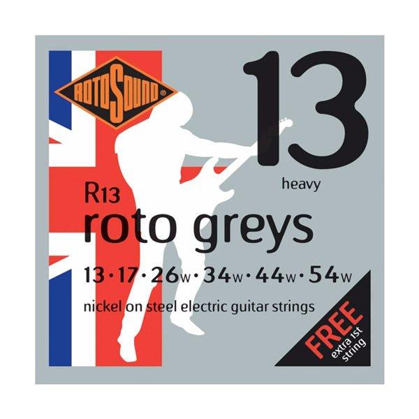 Rotosound R13 Roto Greys | Heavy 13-54