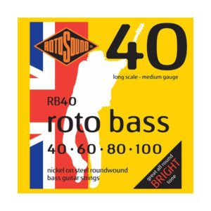Rotosound RB40 Roto Bass | Nickel 40-100