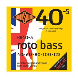 Rotosound RB40-5 Roto Bass 5-str | Nickel 40-125