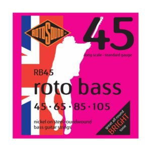 Rotosound RB45 Roto Bass | Nickel 45-105