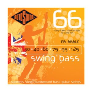 Rotosound RS666LC Swing Bass 66 | 6-str 30-125