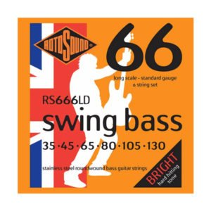 Rotosound RS666LD Swing Bass 66 | 6-str 35-130