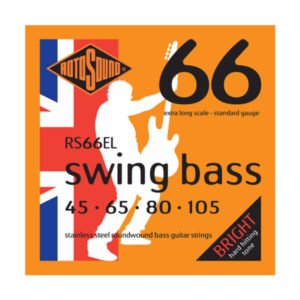 Rotosound RS66EL Swing Bass 66 | Extra Long 45-105