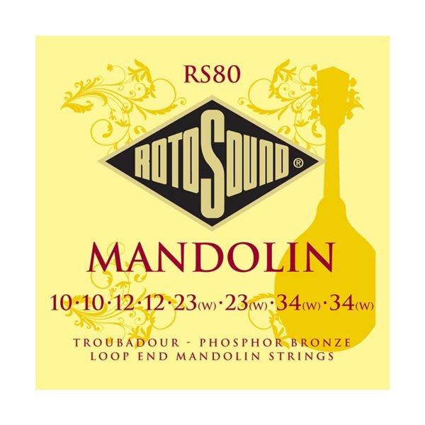 Rotosound RS80 Mandolin Set | Loop End