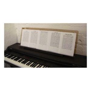 Notställ för pianon | Extra bred